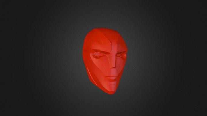 Red Hood Helmet by Brian Choi 3D Model