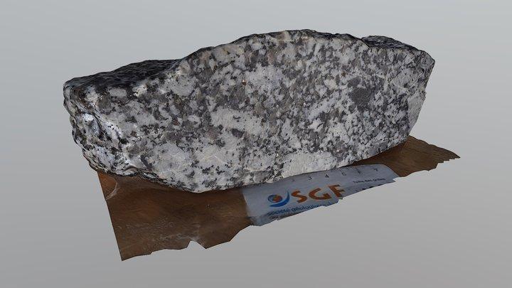 Granite #2 3D Model