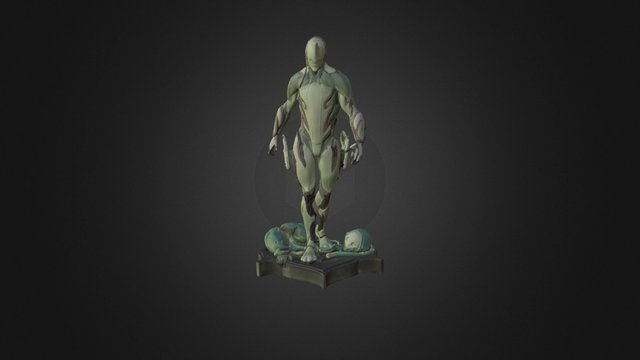 Excalibur Warframe OBJ - Scan in a Box 3D Model