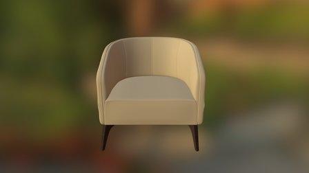 Milano Armchair 3D Model