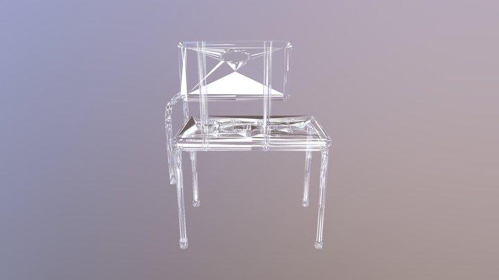 Tub Bench1 3D Model