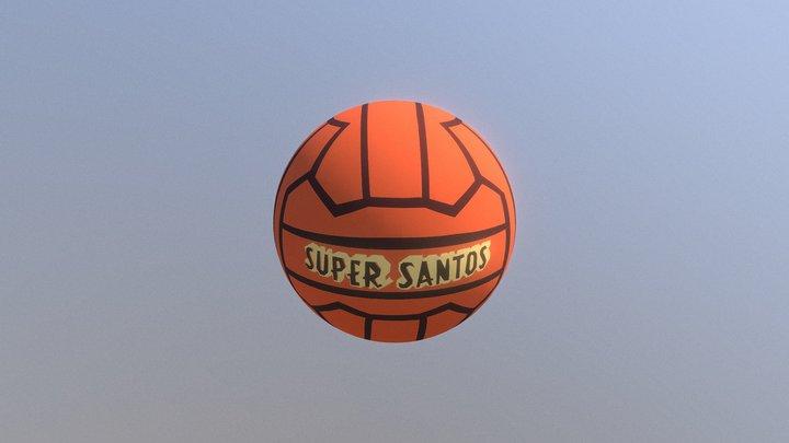 super santos 3D Model