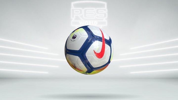 Nike Ordem V Premier League Ball 17_18 3D Model