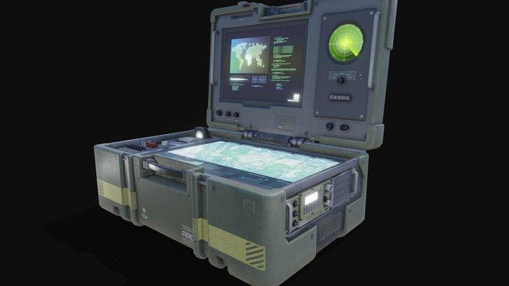 Tactical Command Post 3D Model