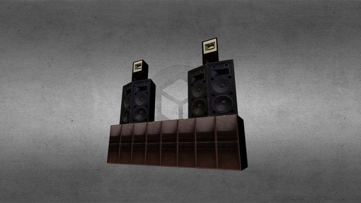 Karma Kusala Sound System 3D Model