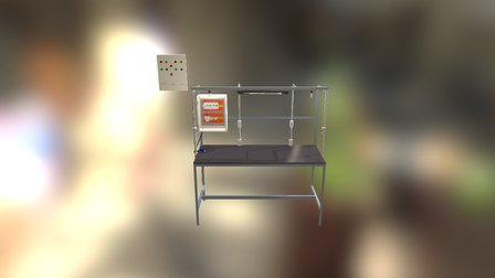 Bancada Elétrica 3D Model