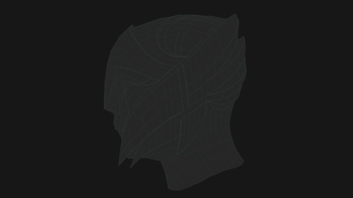VS Envoy Helmet 3D Model