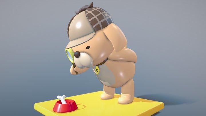 Amelia's Bubba 3D Model