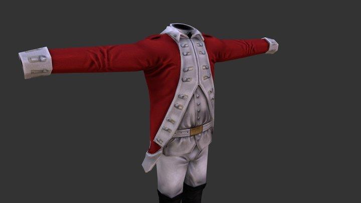 Uniform_1_British 3D Model