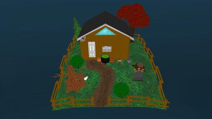 Albert_Mark_Aaron_House 3D Model