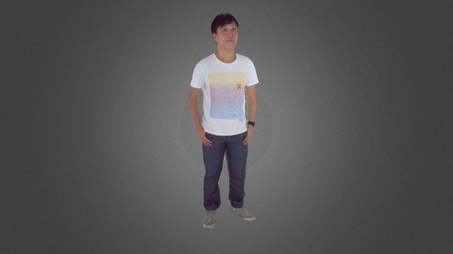 Full body raw scan sample 01 3D Model