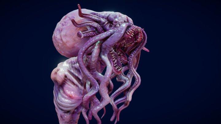 SculptJanuary18 // Lovecraftian 3D Model