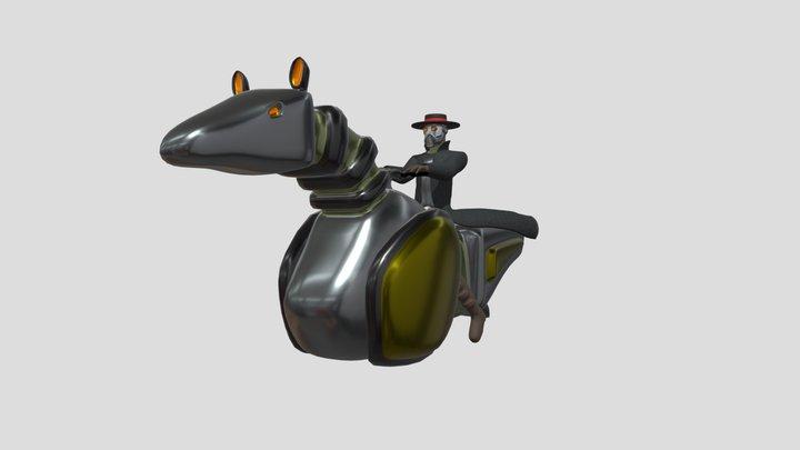 Hoverbike1 3D Model