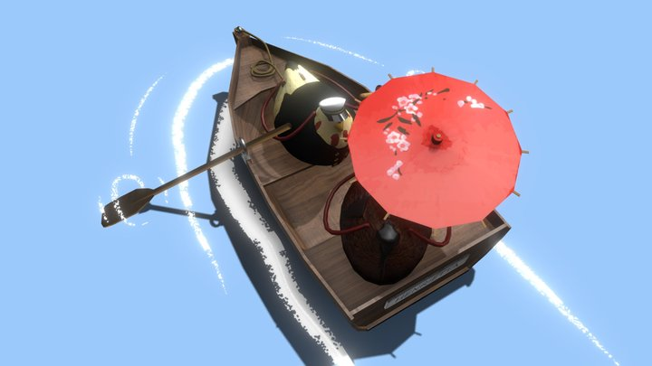 Nuggets The Chicken Purse - Nuggets Boat Captain 3D Model