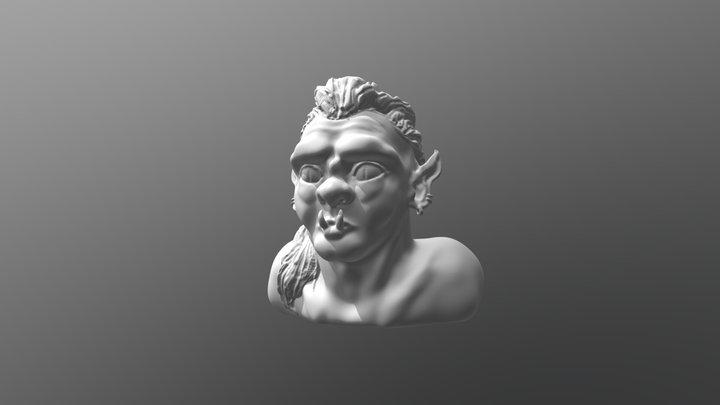ZBrush Orc Sculpt 3D Model