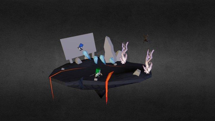 clawhead_scene_test_01 3D Model