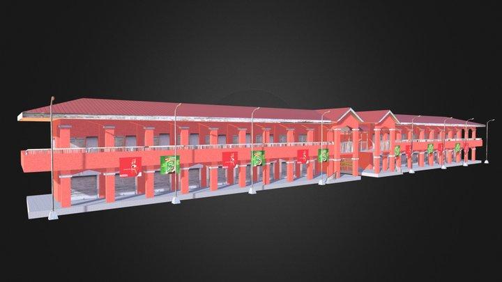 GLAN PUBLIC MARKET 3D Model