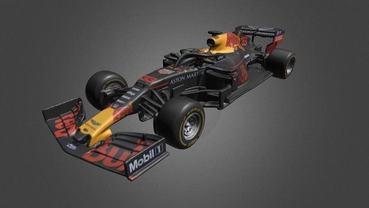 Aston Martin Red Bull Racing RB15 3D Model