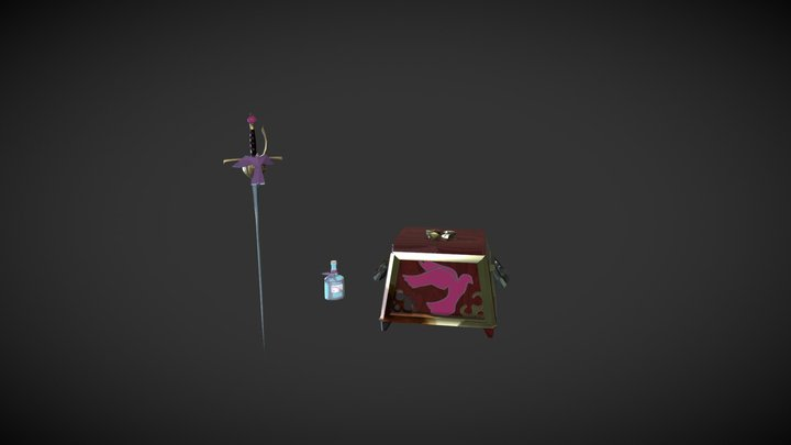 A Noble's Last things 3D Model