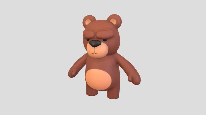 Character001 Bear 3D Model