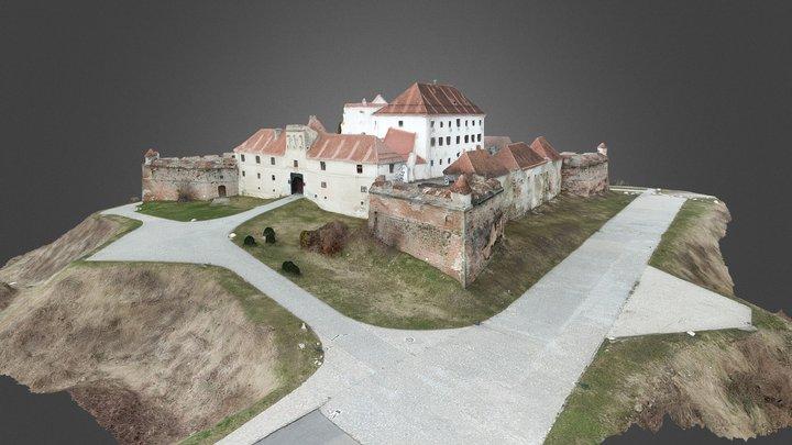 Brasov fortress 3D model 3D Model