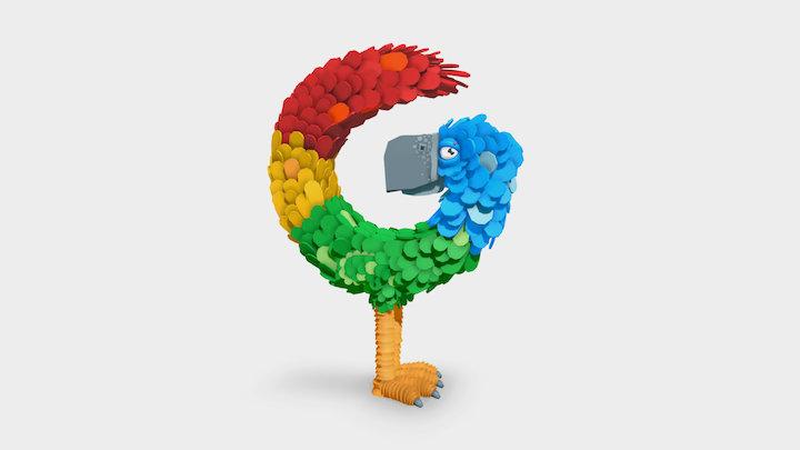 Gisele, the giant bird ! 3D Model