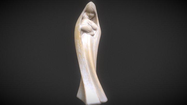 Madonna by Siegfried Gross 3D Model