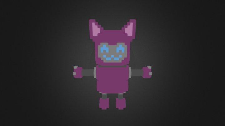Fan Art | Mixer | Cat Bot | [1/7] 3D Model