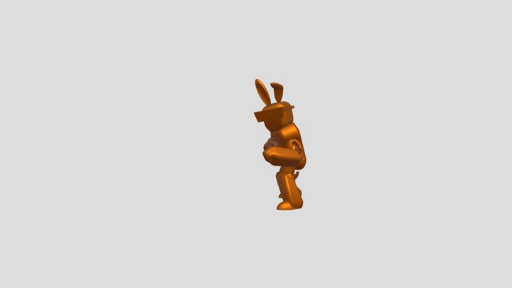 Punch To Elbow Combo 3D Model