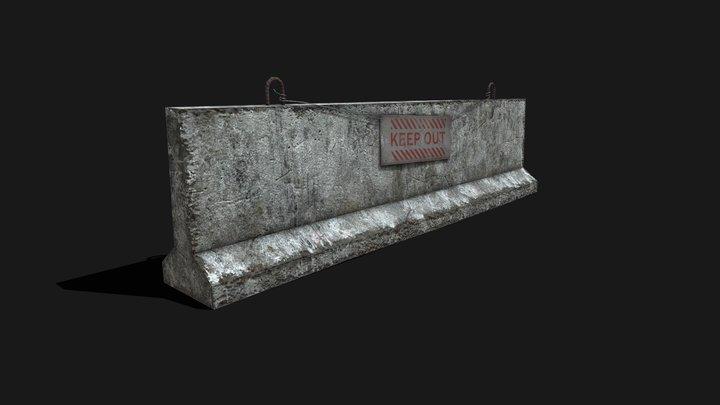 concrete 3D Model
