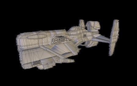 Mamba Fighter 3D Model