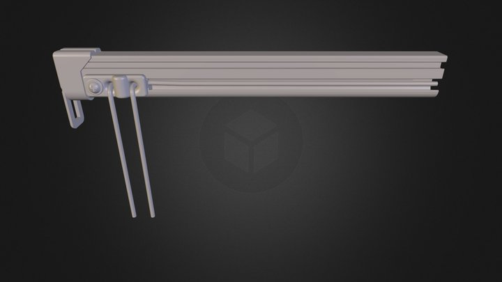 new pulley assembly 3D Model