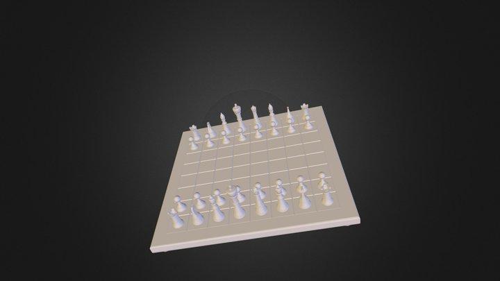 Echequier.STL 3D Model