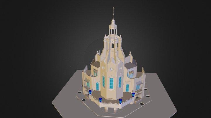 Poweroverwelming Dragon Theatre.dae 3D Model