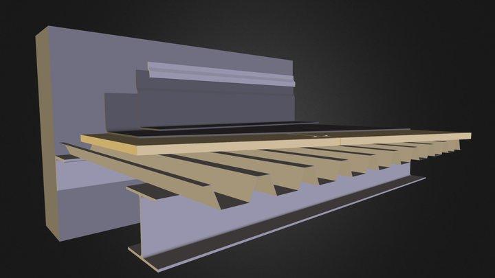 cubierta deck.dae 3D Model