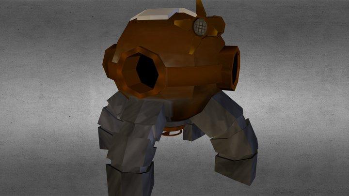 Ryan_Welburn_Bathy 3D Model