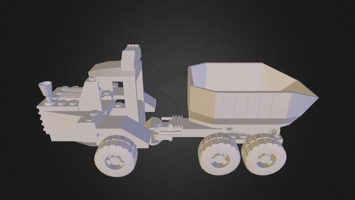 Truck.3DS 3D Model