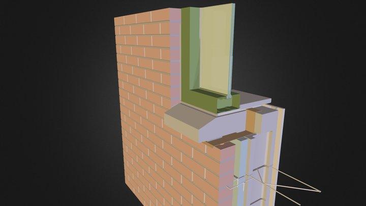 cerramiento tradicional 02.dae 3D Model