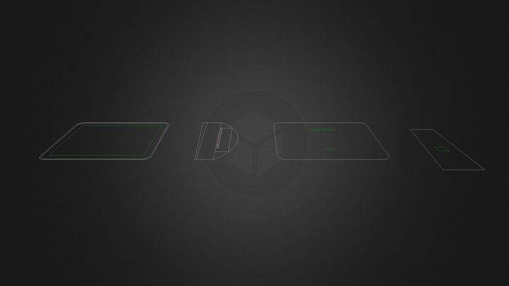 Ferit.dxf 3D Model