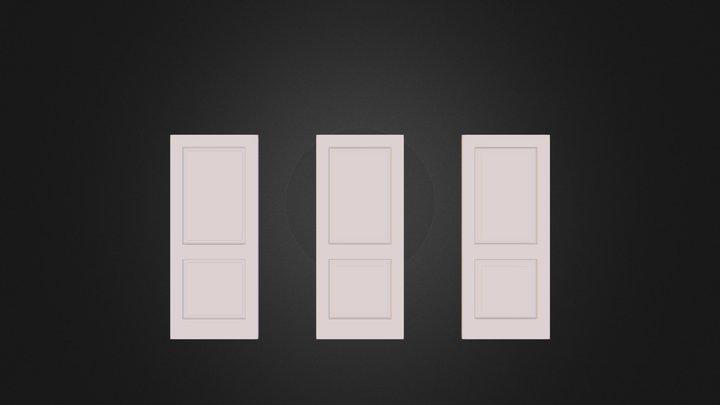 3 Doors-model.dae 3D Model