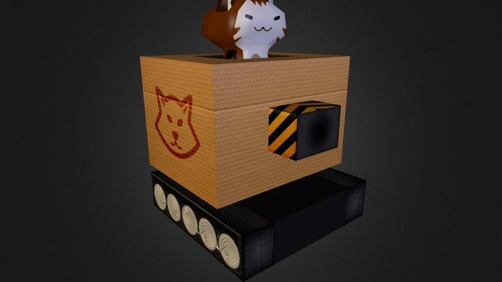 Combat Cat 3D Model