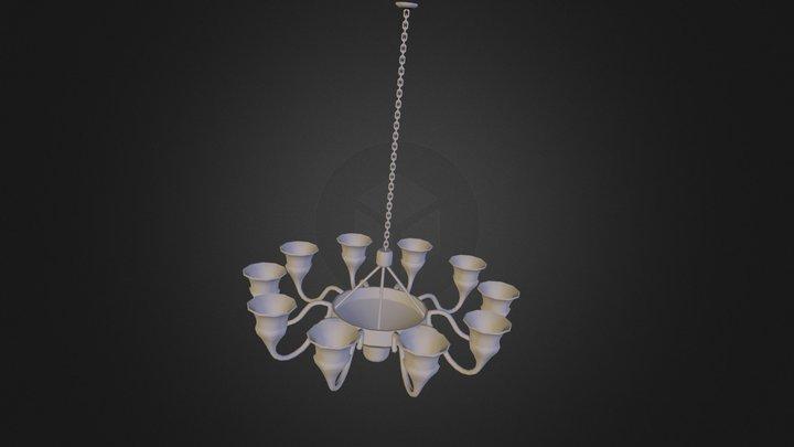 HallwayChandelier.FBX 3D Model