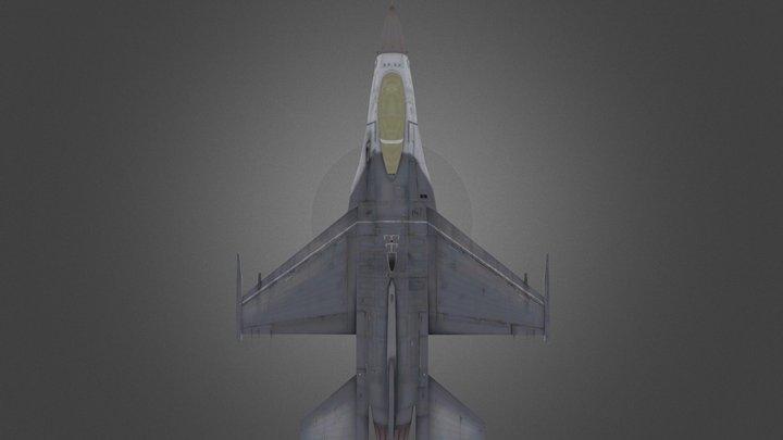 F-16A Fighting Falcon 3D Model