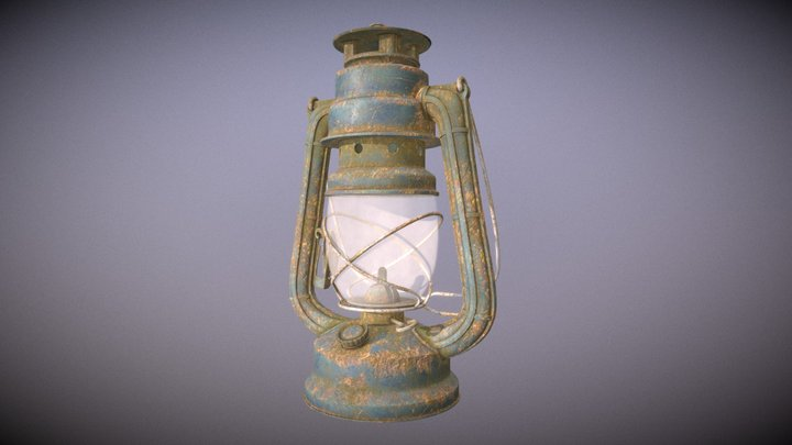 Lantern (Substance Painter Tutorial) 3D Model