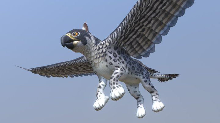 Northern Gryphon 3D Model
