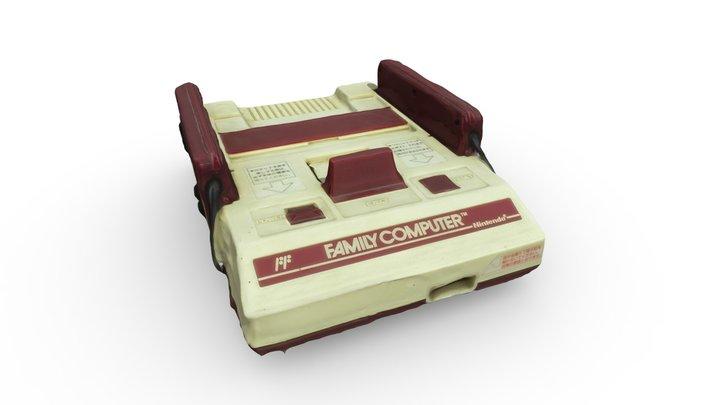 Nintendo - Famicon 3D Model