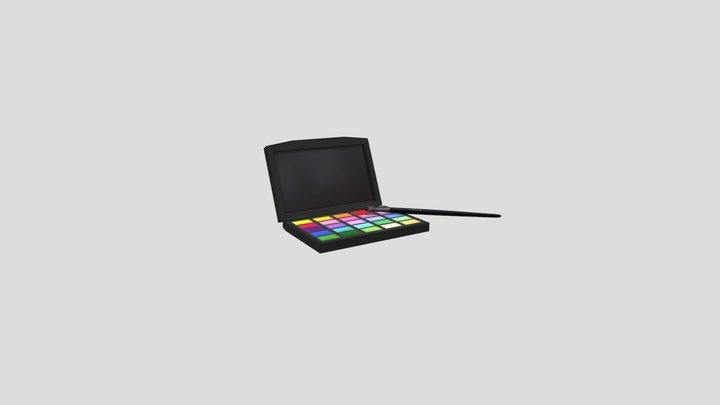Makeup Palette 3D Model