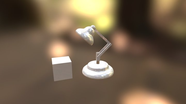 Animated Lamp 3D Model
