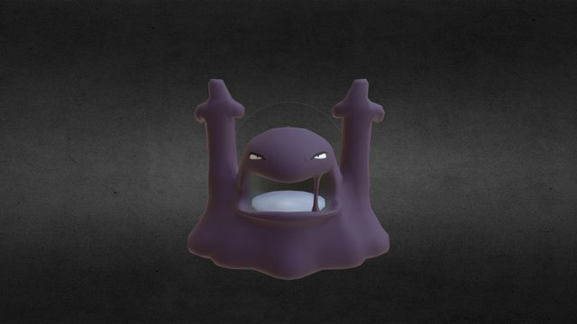 Muk for Pixelmon: Version 3.0.2 (897 Faces) 3D Model
