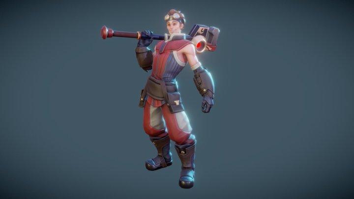 Wrenchman - Shardbound 3D Model